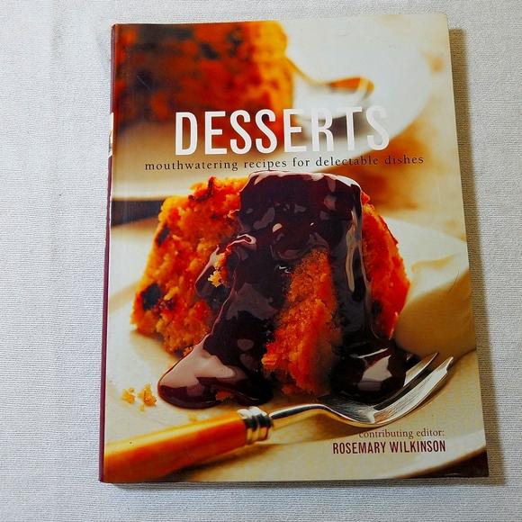 "3/$10📚 ""Desserts"" Coobook"